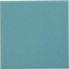 Carrelage pour sol ou mur en grés émaillé dim.10x10cm coloris pool blue - Gedimat.fr