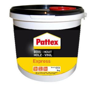 Colle à bois PATTEX express 5kg - Gedimat.fr