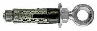 Cheville fonte à expansion GM-R 6 diam.12mm long.47mm avec piton rond filetage diam.6mm anneau diam.11mm 50 pièces - Gedimat.fr