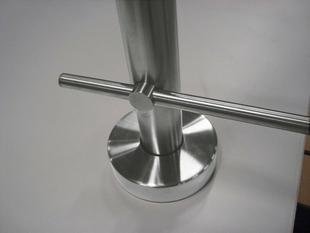 Tubes pour gamme garde-corps en inox long.2,00m diam.12mm par lot de 5 pièces - Gedimat.fr