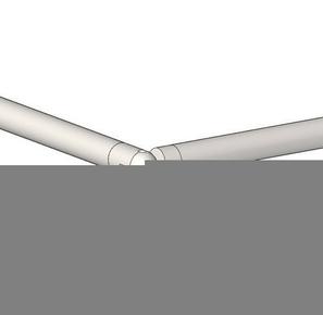 Articulation tube pour gamme garde-corps en inox par lot de 5 pièces - Gedimat.fr