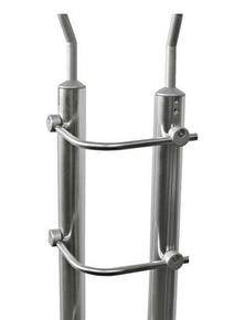 Tube cintré pour gamme garde-corps en inox par lot de 5 pièces - Gedimat.fr
