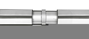 Liaison droite main courante pour gamme garde-corps en inox - Gedimat.fr