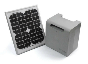 Kit solaire m house pf pour motorisation de portail for Portail electrique solaire