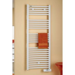 Sèche serviettes eau chaude ATOLL SPA puissance 716W haut.146,8cm larg.50cm blanc - Gedimat.fr