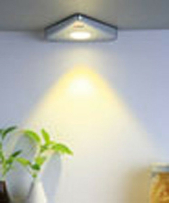 Spot led triangulaire interrupteur - Gedimat.fr