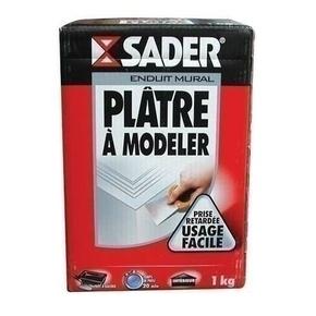 Plâtre à modeler boîte carton 1kg - Gedimat.fr