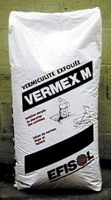 vermiculite exfoli e vermex m pour b ton l ger sac 100l. Black Bedroom Furniture Sets. Home Design Ideas