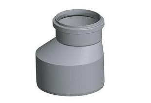 Augmentation excentrée PVC SDR41 diam.200/160mm - Gedimat.fr