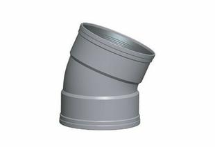 Coude PVC CR8 FF 30° diam.125mm TYPE SDR 34 - Gedimat.fr