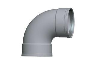 Coude PVC CR8 FF 87°30 diam.200mm TYPE SDR 34 - Gedimat.fr