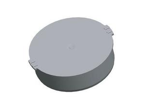 Bouchon PVC assainissement mâle diam.125mm - Gedimat.fr
