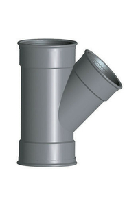 Culotte PVC CR8 FFF 45° diam.160X125mm type SDR 34 - Gedimat.fr