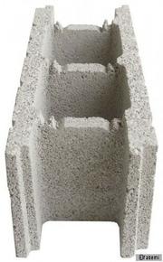 Bloc béton à bancher (de coffrage) ép.27,5cm haut.20cm long.50cm - Gedimat.fr