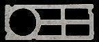 Bloc béton creux rectifié PLANIBLOC NF chaînage vertical ép.20cm haut.25cm long.50cm - Gedimat.fr