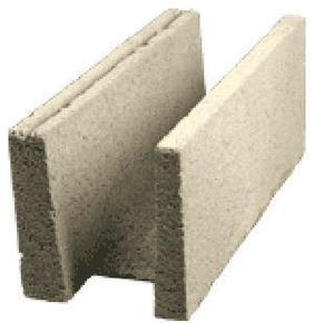 Bloc béton de chaînage horizontal rectifié PLANIBLOC ép.20cm haut.25cm long.50cm - Gedimat.fr