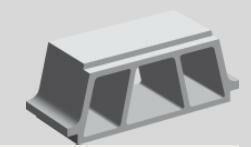 Entrevous béton TCI ép.16cm larg.53cm long.19cm - Gedimat.fr