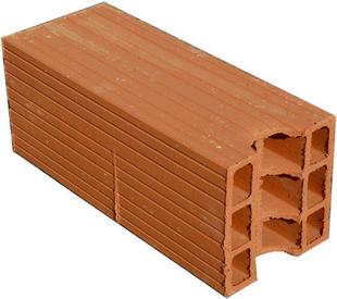 Brique creuse terre cuite ép.20cm haut.27cm long.50cm - Gedimat.fr
