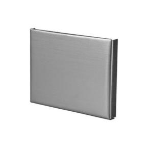 Talon à souder carré zinc naturel développé 33,3cm - Gedimat.fr