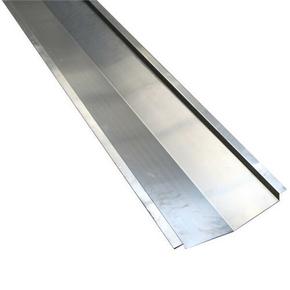 Noue clouer en alu zinc naturel d velopp 45cm - Noue en zinc ...
