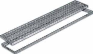 grille caillebotis acier emboitement gre 40. Black Bedroom Furniture Sets. Home Design Ideas