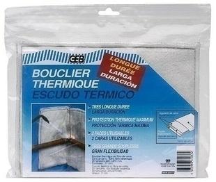 Bouclier thermique longue durée dim.20x27cm - Gedimat.fr