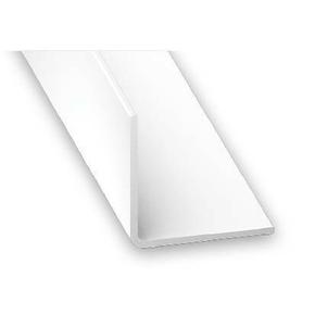 Cornière égale PVC blanc ép.1mm 30x30mm long.2,60m - Gedimat.fr