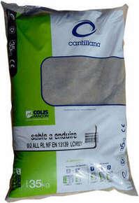 Sable à enduire granulométrie 0/2mm sac de 35kg - Gedimat.fr