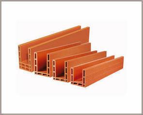 Maxi-linteau en terre cuite pour mur de 20cm ép.20cm long.2,60m hors tout - Gedimat.fr