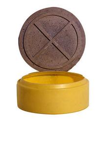 Couvercle b ton pour r hausse bac pr filtre ou d graisseur - Rehausse fosse septique ...