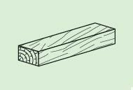 Clavette bois PREGYFAYLITE 50 ép.29mm larg.50mm long.20cm - Gedimat.fr