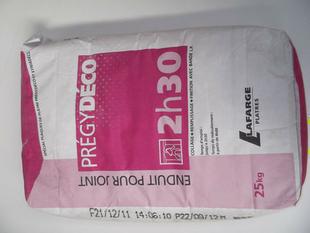 Enduit à joint prise rapide PREGYDECO 2h30 sac de 25kg - Gedimat.fr