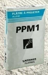 Plâtre à projeter allégé PPM1 sac de 33kg - Gedimat.fr