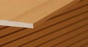 Plaque de plâtre hautement hydrofuge PREGYWAB BA13 ép.12,5mm larg.1,20m long.2,60m - Gedimat.fr