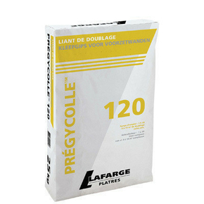 Mortier adhésif PREGYCOLLE 120 sac de 25kg - Gedimat.fr