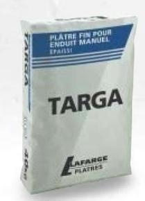 Plâtre manuel traditionnel TARGA sac de 40kg - Gedimat.fr