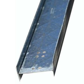 Rail acier galvanisé PREGYMETAL 2 PLUS long.6m - Gedimat.fr