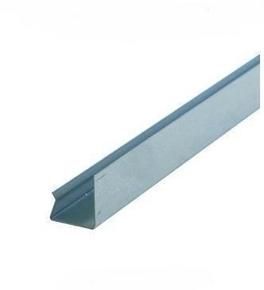 Rail acier galvanisé de contre-cloison PREGYMETAL long.3m - Gedimat.fr