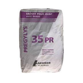 Enduit joint prise rapide pregylys 35 pr sac de 25kg - Enduit de lissage bande a joint ...