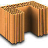 Brique terre cuite poteau POROTHERM R42 ép.42,5cm haut.24,9cm long.28,2cm - Gedimat.fr
