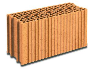 Brique terre cuite base POROTHERM R20 ép.20cm haut.24,9cm long.50cm - Gedimat.fr