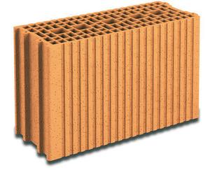 Brique terre cuite base POROTHERM GFR20 ép.20cm haut.29,9cm long.50cm - Gedimat.fr