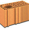 Brique terre cuite poteau POROTHERM R25 ép.25cm haut.24,9cm long.50cm - Gedimat.fr