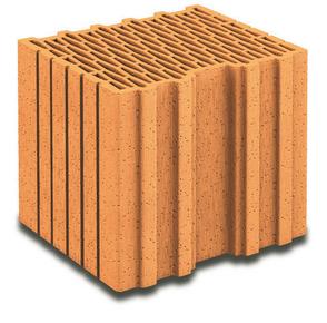 Brique terre cuite de calepinage horizontal POROTHERM R30 ép.30cm haut.24,9cm long.25cm - Gedimat.fr