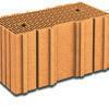 Brique terre cuite base POROTHERM R50 ép.50cm haut.24,9cm long.25cm - Gedimat.fr