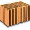 Brique terre cuite base POROTHERM R42 ép.42,5cm haut.24,9cm long.28cm - Gedimat.fr