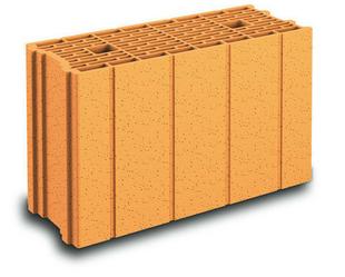 Brique terre cuite base POROTHERM GFR20 TH+ ép.20cm haut.29,9cm long.50cm - Gedimat.fr