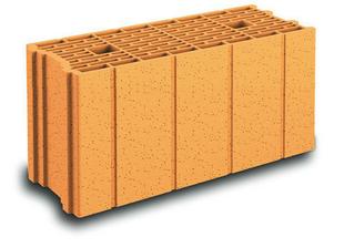 Brique terre cuite TH+ base POROTHERM R20 ép.20cm haut.24,9cm long.50cm - Gedimat.fr