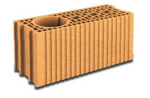 Brique terre cuite poteau complémentaire POROTHERM T20 ép.20cm haut.19cm long.45cm - Gedimat.fr