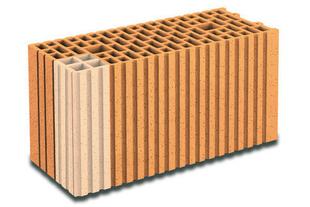 Brique terre cuite tableau-feuillure POROTHERM R20 ép.20cm haut.24,9cm long.50cm - Gedimat.fr